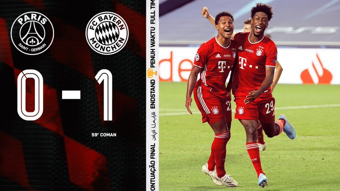 DOWNLOAD: PSG vs Bayern Munich 0-1 – Match Goal Highlights