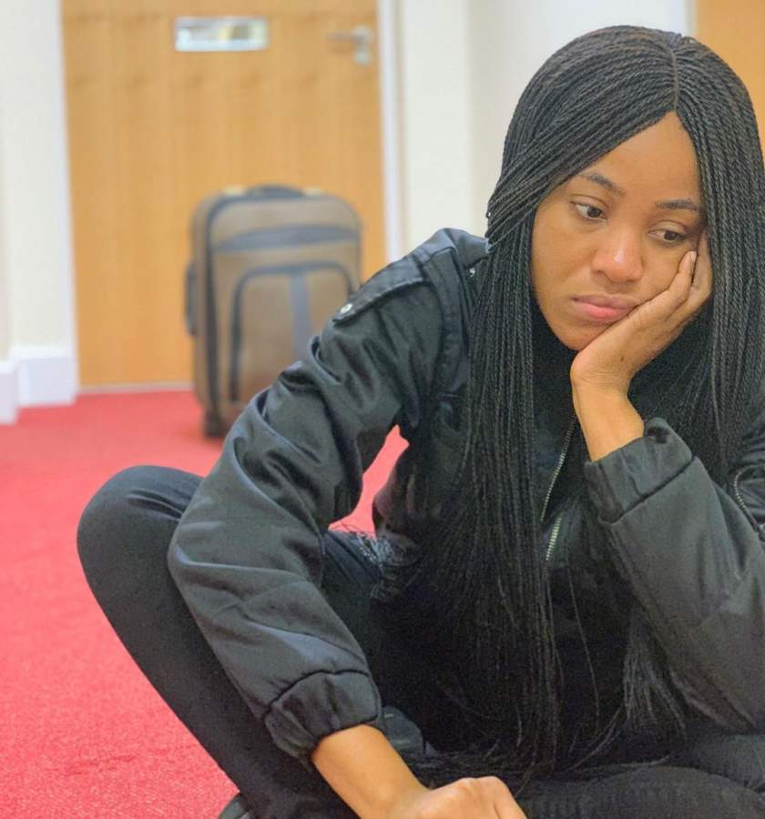 #BBNaija: Erica gets disqualified from the Big Brother house over consistent bad behaviour