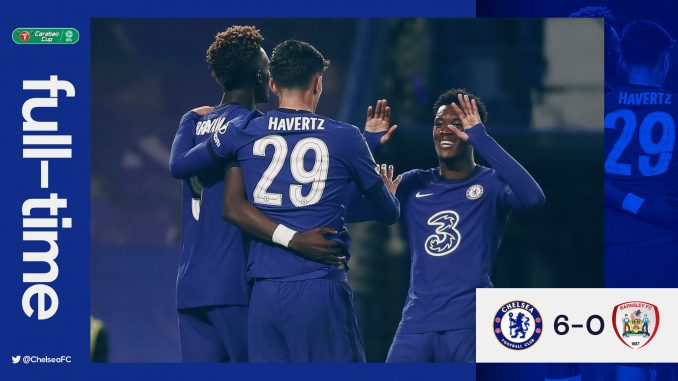 Download: Chelsea vs Barnsley 6-0 – Match & Goal Highlights