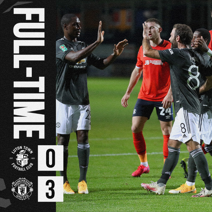 Download: Luton vs Manchester United 0-3 – Match & Goal Highlights