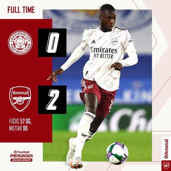 Download: Leicester vs Arsenal 0-2 – Goal Highlights