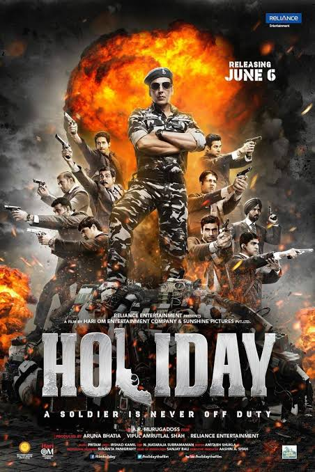 Download: Holiday A Soldier Is Never Off Duty - Indian (2014) Sub