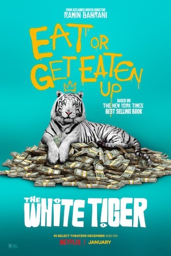 The White Tiger (2021) Full Movie Download MP4 HD
