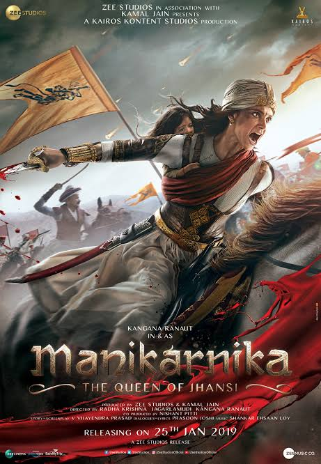 Manikarnika The Queen of Jhansi Hindi Full Movie Download MP4 HD Bollywood & English Subtitles
