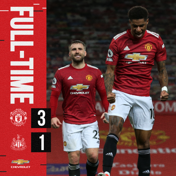 Manchester United vs Newcastle 3-1 – Highlights