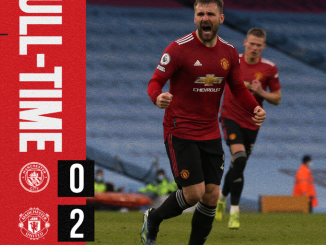 Manchester City vs Manchester United 0-2 – Highlights