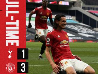 Tottenham vs Manchester United 1-3 – Highlights