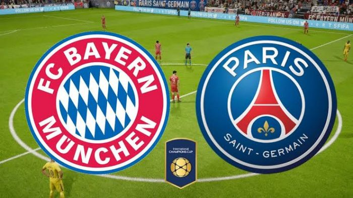 Bayern Munich vs PSG Uefa Champion League Livestreaming in HD
